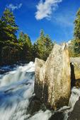 Waterfalls, Rushing River Provincial Park near Kenora, Ontario, Canada