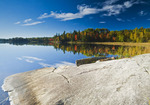autumn, Bunny Lake, near Sioux Narrows, Northwestern Ontario, Canada