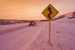 rural road near Craven, Qu'Appelle River Valley, Saskatchewan, Canada