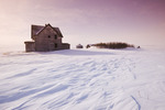 abandoned farm, near Assiniboia, Saskatchewan, Canada
