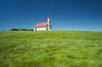 Church, near Mankota Saskatchewan, Canada