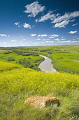 Frenchman River, West Block, Grasslands National Park, Saskatchewan, Canada