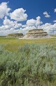 Killdeer Badlands, East Block, Grasslands National Park, Saskatchewan, Canada
