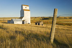 abandoned grain elevator, Thunder Creek, Saskatchewan, Canada