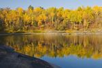 autumn, Winnipeg River, near Seven Sisters, Manitoba, Canada