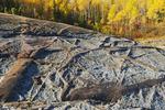 autumn, precambrian rock along the Winnipeg River, near Seven Sisters, Manitoba, Canada