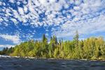 Otter Rapids along the Churchill River,  Saskatchewan, Canada
