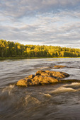 rapids along the Clearwater River, Clearwater River Provincial Park,  Saskatchewan, Canada
