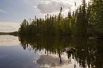 Little Deer Lake, Lac La Ronge Provincial Park,  Saskatchewan, Canada