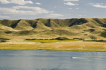 Saskatchewan Landing Provincial Park with Lake Diefenbaker in the background, ,  Saskatchewan, Canada