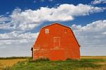 red barn near Elrose, Saskatchewan, Canada