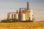 inland grain terminal near Humboldt, Saskatchewan, Canada