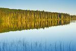 Hanging Heart Lakes, Prince Albert National Park, Saskatchewan, Canada