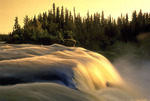 Pisew Falls Provincial Park, Manitoba, Canada