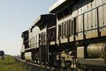 locomotives , near Winnipeg, Manitoba, Canada