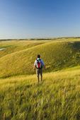 hiking, West Block, Grasslands National Park, Saskatchewan, Canada