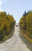 Highway 102 through Northern Saskatchewan, Saskatchewan, Canada