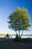 Waskesiu Lake, Prince Albert National Park, Saskatchewan, Canada