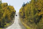 Highway 102 through Northern Saskatchewan, Saskatchewan, Canada
