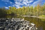Waddy River near Brabant Lake, Northern Saskatchewan, Canada
