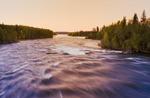 Otter Rapids along the Churchill River,  northern Saskatchewan, Canada