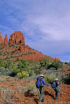 Hikers explore trail in Sedona