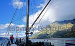 Cruising Lake Wakatipu, New Zealand