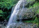 Kalihiwai Falls in Princeville, Kauai