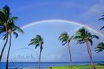 Rainbow over Maui coastline