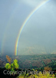 Rainbow in Waimea Canyon on Kauai