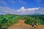 Couple hikes the Pihea Trail on Kauai