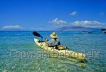 Kayaker off Maui