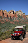 Jeep in Sedona