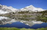 Reflections at 20 Lakes Basin