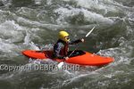 Kayaker on the Colorado River in Glenwood Canyon