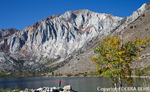 Convict Lake with autumn color