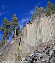 Devils Postpile National Monument in Mammoth Lakes