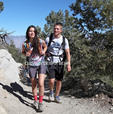 Couple on the Mt. Whitney Trail