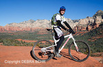 Mountain biker in Sedona