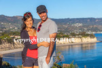 Couple at Point Dume State Preserve in Malibu