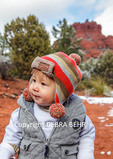 Young boy enchanted on snow day at Bell Rock Path