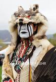 Native American at the Chumash Day Powwow and Intertribal Gathering in Malibu, California
