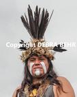 Chumash participant at the Chumash Day Powwow and Intertribal Gathering in Malibu