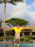 Rainbow over the Westin Kaanapali Ocean Resort Villas on Maui