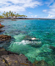 Snorkelers off Two-Step on the Big Island of Hawaii