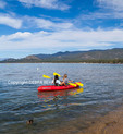 Women kayaking in Lake Tahoe