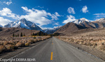 Road to Convict Lake in the Eastern Sierra