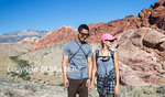 Couple at Red Rock Canyon National Conservation Area