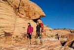 Couple explore Red Rock Canyon National Conservation Area