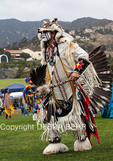 Native American dances at Chumash Day Powwow and Intertribal Gathering in Malibu